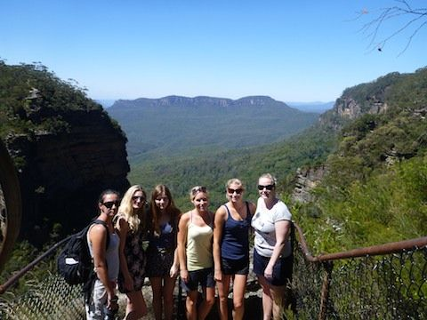 BLUE MOUNTAINS TOUR FOR BACKPACKERS