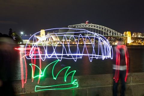 CAPTURE YOURSELF IN SYDNEY AT NIGHT