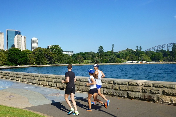 Sightseeing on the run in Sydney